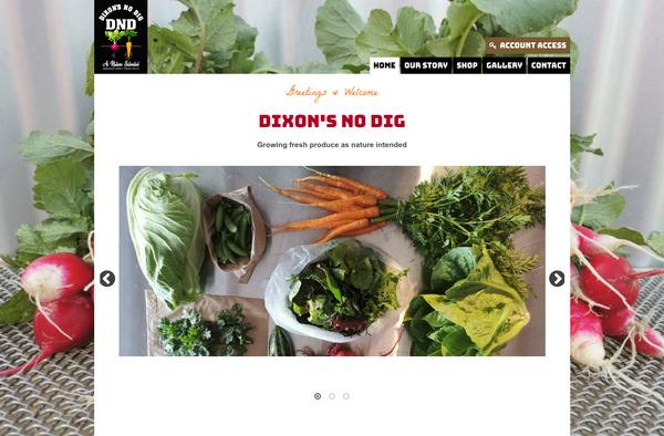 Dixon's No Dig Organic Veges