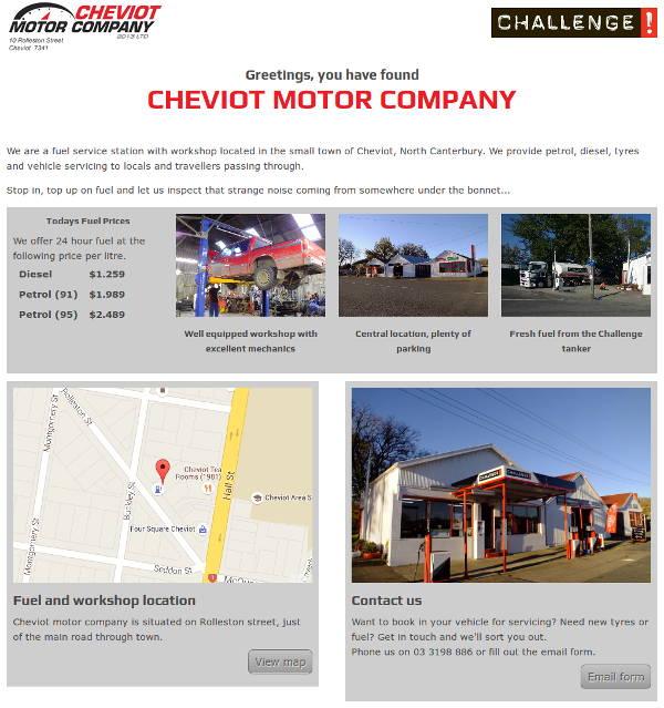 Cheviot Motor Company