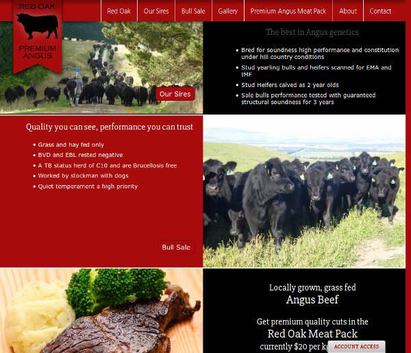 Red Oak Premium Angus